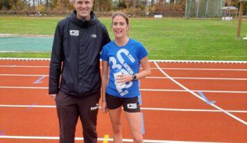 Nina Lauwaert + nieuwe atleten